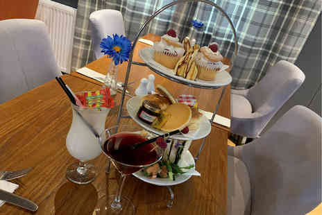 The Davron Hotel - Afternoon tea with a cocktail each for two - Save 42%