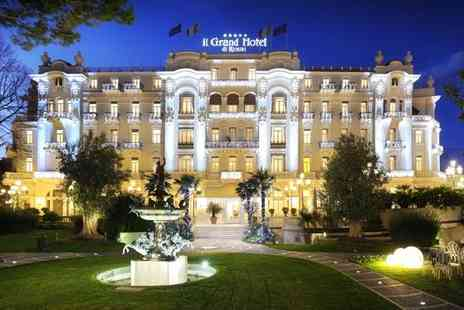 Grand Hotel Rimini - Five Star Glorious Location Overlooking the Sea for two - Save 68%