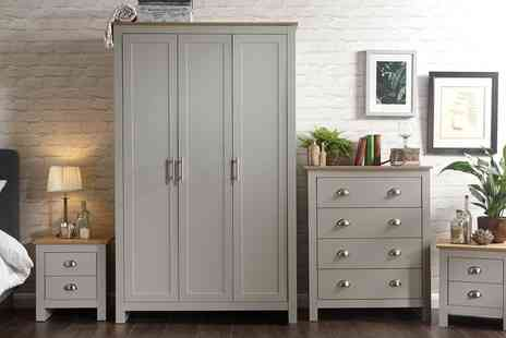 Groupon Goods Global GmbH - Ledbury Bedroom Furniture Range in Choice of Colour - Save 0%