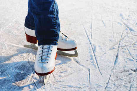 Leisurebox - ice skating for two people including ice skate hire - Save 61%