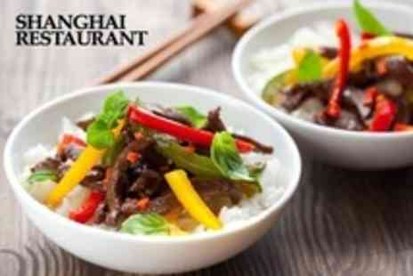 Shanghai Restaurant - Two Course Thai and Chinese Meal For Four With Rice - Save 60%