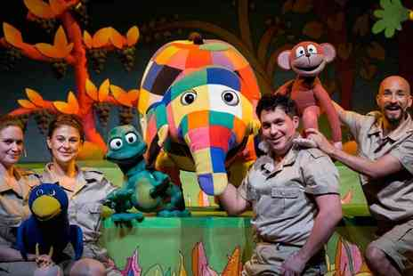 Surrey Heath Borough Council - Elmer the Patchwork Elephant at the Camberley Theatre A Colourful Theatre Treat for All Ages - Save 25%