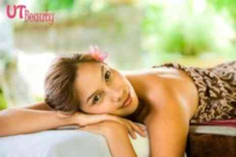 UT Beauty - Two Beauty Treatments Such As Half Leg and Bikini Wax, Mini Facial or Spray Tan - Save 64%