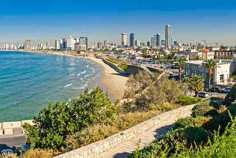 Going Luxury - Deluxe Seven nights Tel Aviv holiday near beach - Save 0%