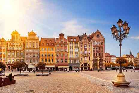 Weekender Breaks - Two nights Krakow city break with breakfast and return flights - Save 44%