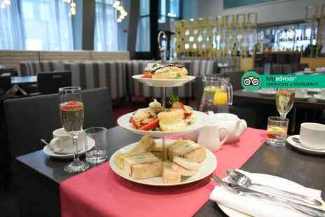 Crowne Plaza Manchester - Afternoon tea for two people with a glass of Prosecco each - Save 58%