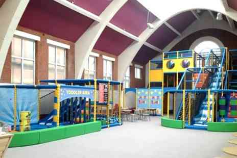 Pirates Play Centre - Two Hour Soft Play Entry and Drink for One, Two or Four Kids - Save 44%