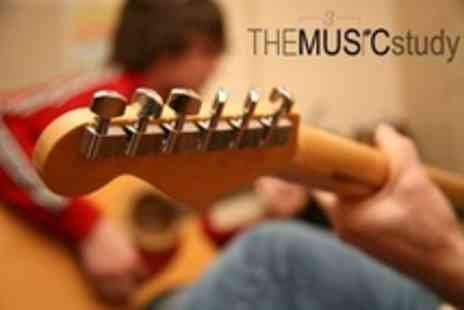The Music Study - Music Tuition One 45 Minute Lessons - Save 50%
