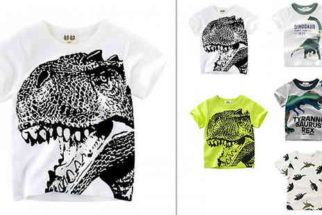 Best mall ever - Kids Dinosaur Tshirt Choose Five Styles And Six Sizes - Save 76%