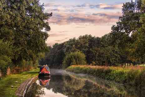 Lancashire Canal Cruises - Lancs barge cruise for Two including afternoon tea - Save 50%