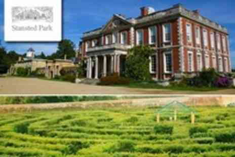 Stansted Park - Stately Home Entrance For Two Adults - Save 50%