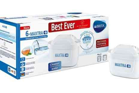 Groupon Goods Global GmbH - 6 or 12 Brita Maxtra Water Filter Cartridges - Save 36%