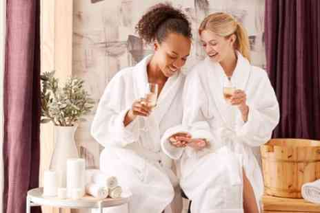 Imagine Spa Hilton Hotel - Spa Package with Glass of Prosecco for One or Two - Save 37%