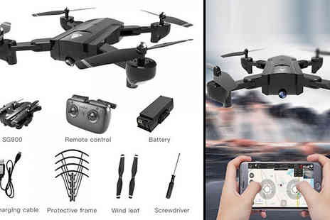 MBLogic - Drone Quadcopter Choose Colours, Optional 720P Camera And Battery Sizes - Save 67%