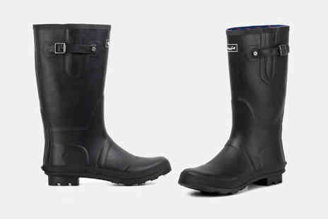 Redfoot - Pair of Glastonbury wellington boots choose from two colours - Save 51%