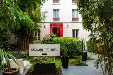 Le Quartier Bercy Square - Double Comfort Room for Two with Option for Breakfast and Glass of Wine - Save 72%