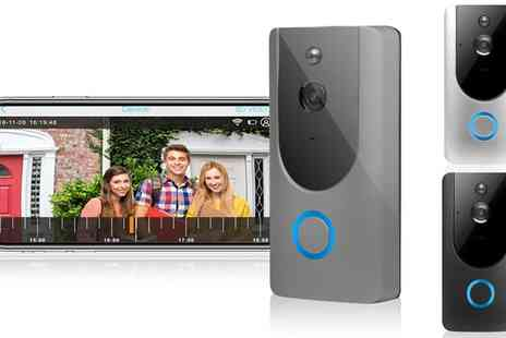 Groupon Goods Global GmbH - Apachie Wireless Video Doorbell in Choice of Colour - Save 0%