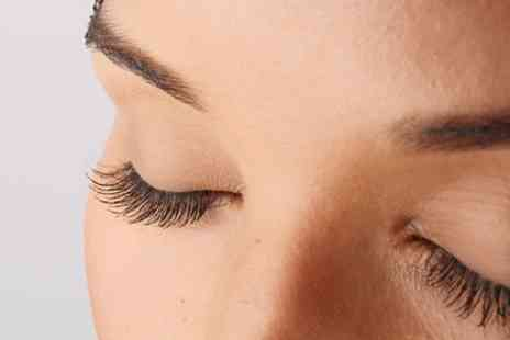 Falwless Touch Nails And Beauty - Full Set of Individual Eyelash Extensions or Lash Lift and Tint - Save 54%