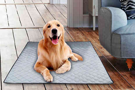 Wow What Who - Small pet cooling mat, Medium, Large or Extra large - Save 87%