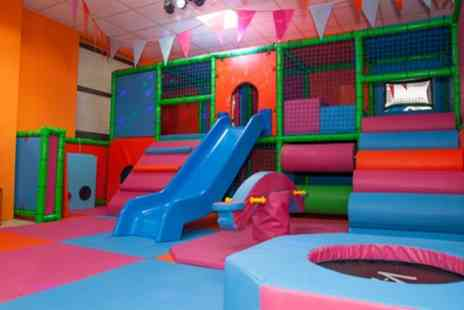 Big Little Fun - Soft Play Centre Entry with Meal for Up to Three Kids and Two Adults - Save 43%