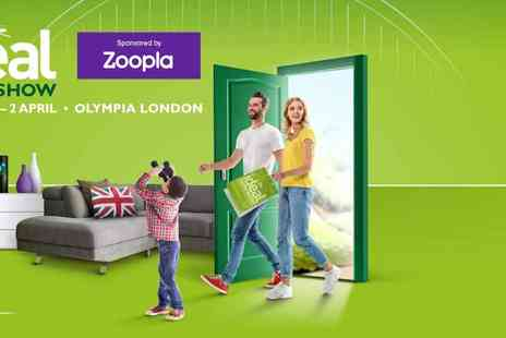 Encore Tickets - The Ideal Home Show, Olympia 53% off 2 Tickets Plus Kids Go Free Get Inspired this Easter - Save 53%