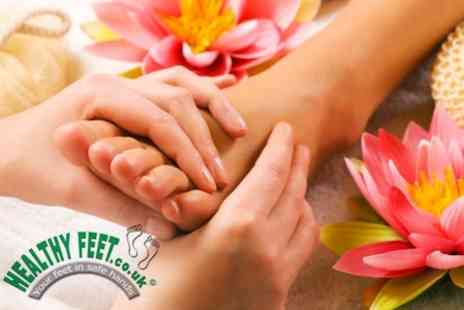 Healthy Feet - Chiropody Consultation And Treatment With Nail Nourishment Treatment - Save 60%