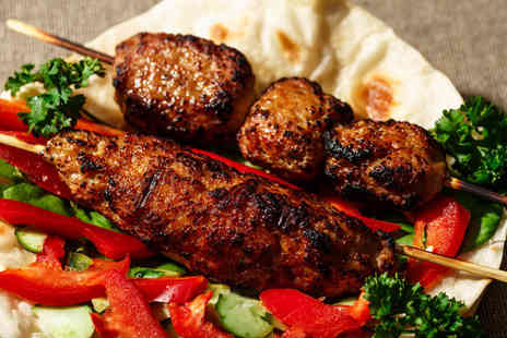 Turkish Kitchen - Two course Turkish dining with sides for two people - Save 46%