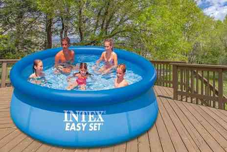 Gift Gadget - Intex Easy Set pool choose from three sizes - Save 67%