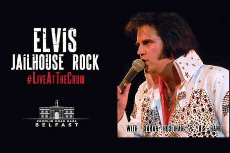 Crumlin Road Gaol - Ticket to Jailhouse Rock Live Elvis tribute concert - Save 29%