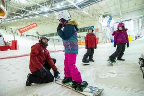 Snow Factor - Taster Ski or Snowboard Experience or Lesson Levels One, Two or Three for One or Two - Save 52%