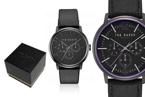 Brand Arena - Ted Baker mens watch choose from 16 designs - Save 76%