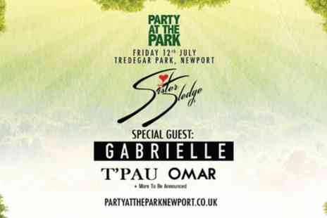 Party At The Park 2019 - One ticket with Sister Sledge and Gabrielle from 12th July - Save 50%
