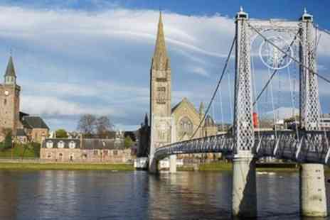 Luxury minibus travel - Walking tour Inverness, 2.5 hrs, all points of interest included - Save 0%