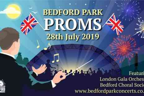 Bedford Park Proms - One general admission child or early bird adult ticket from 28th July - Save 32%