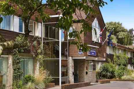BEST WESTERN Tiverton Hotel - Double Room for Two with Breakfast, Glass of Wine and Option on Dinner - Save 44%