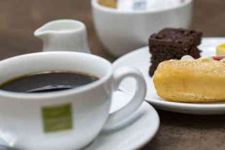 Clarence Yard - Three Mini Cakes with Drink for Up to Four - Save 44%