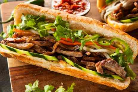 Cafe Bap - Lunch Course with Soft Drink for Up to Four - Save 15%