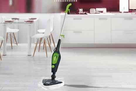 Groupon Goods Global GmbH - Easy Steam X10 10 in 1 1500W Multi Functional Steam Mop With 11 Piece Accessory Kit - Save 0%