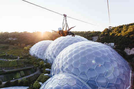 The Eden Project - Hangloose Zip Wire, Big Air and Giant Swing for Two - Save 0%