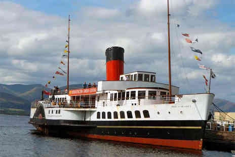 Maid of the Loch Tearoom - Afternoon tea for two on board - Save 30%