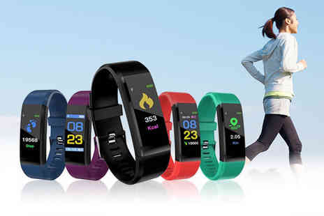 Wow What Who - 115 Plus fitness smart watch - Save 83%