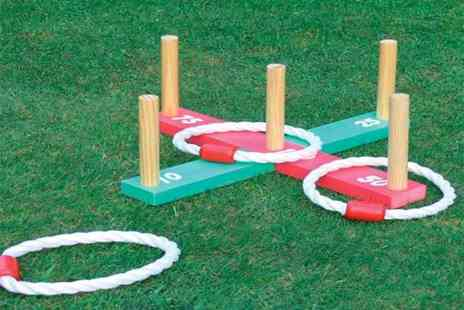 ViVo Mounts - Wooden quoits garden game - Save 71%
