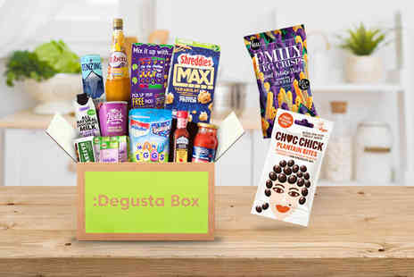 DegustaBox - One month food hamper try something new Plus Delivery Is Included - Save 38%