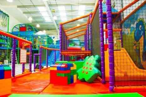 Kidz Fantasy Land - Play Area Entry for Two or Four Kids - Save 47%