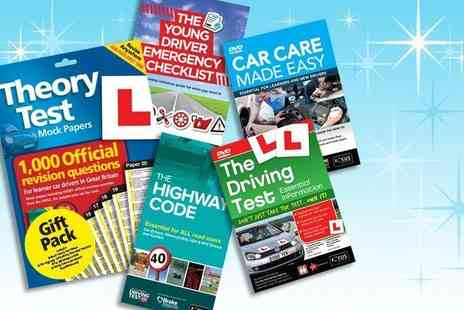 eoutlet - The learner driver gift pack - Save 84%