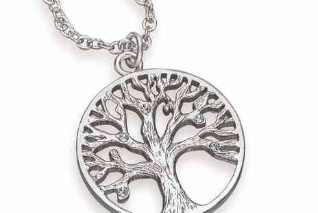 Lily Spencer - Tree of life pendant necklace - Save 90%
