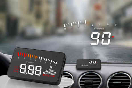 MBLogic - Windshield headsup display projector - Save 70%