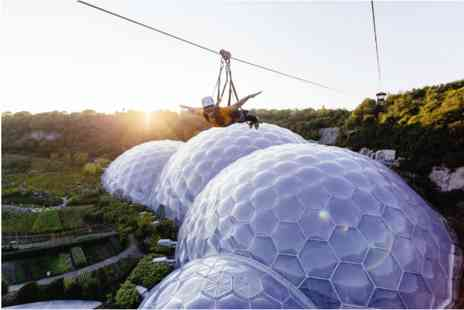 The Eden Project - Zip Wire, Big Air and Giant Swing for Two - Save 0%