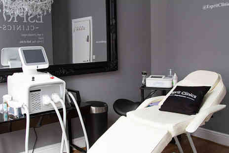 Espirit Clinics - Cryo lipo session on one area or two areas - Save 85%