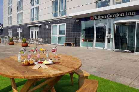 Hilton Garden Inn - Two gins each and a sharing platter for two - Save 50%